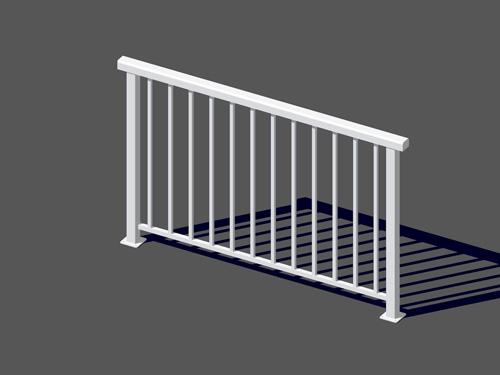 deck railing systems easyrailings aluminum railings aluminum deck