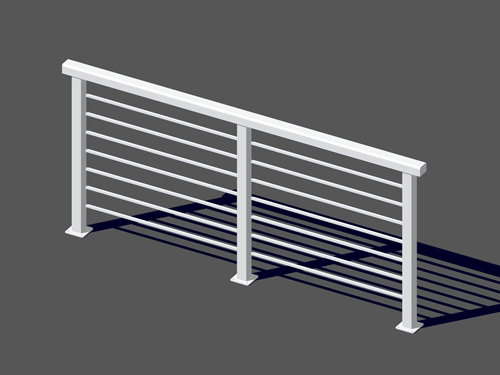 Exceptional Deck Railing Systems | Easyrailings | Aluminum Railings, Aluminum ...