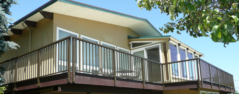 deck railing systems easyrailings aluminum railings aluminum